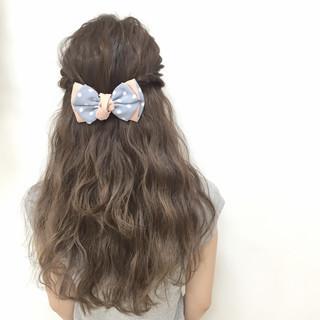 大人かわいい 愛され フェミニン ヘアアレンジ ヘアスタイルや髪型の写真・画像