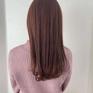 大人かわいい ベリーピンク ピンクラベンダー ピンクベージュ ヘアスタイルや髪型の写真・画像
