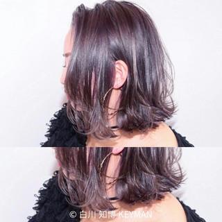 ニュアンス 暗髪 ボブ 色気 ヘアスタイルや髪型の写真・画像