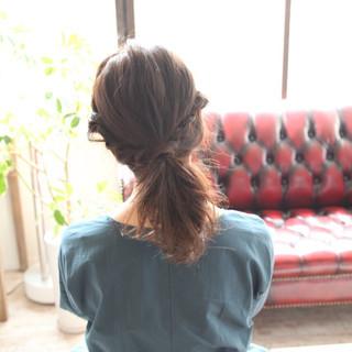 ヘアアレンジ ショート 簡単ヘアアレンジ ミディアム ヘアスタイルや髪型の写真・画像 ヘアスタイルや髪型の写真・画像