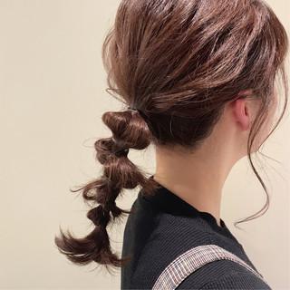 ラベンダーアッシュ セミロング ラーメンマンヘア ロブ ヘアスタイルや髪型の写真・画像 ヘアスタイルや髪型の写真・画像