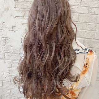 ロングヘアスタイル 大人ロング クールロング フェミニン ヘアスタイルや髪型の写真・画像
