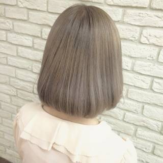 ストリート ガーリー アッシュ ヘアスタイルや髪型の写真・画像