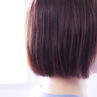 ピンクラベンダー ボブ ラベンダーアッシュ ラベンダーピンク ヘアスタイルや髪型の写真・画像