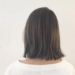 ストリート イルミナカラー アッシュ インナーカラー ヘアスタイルや髪型の写真・画像