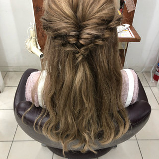 夏 ショート 編み込み ヘアアレンジ ヘアスタイルや髪型の写真・画像 ヘアスタイルや髪型の写真・画像