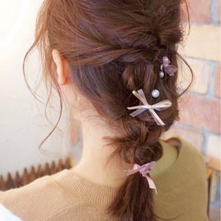 【セミロング編】毎日違うヘアアレンジを楽しもう♪簡単まとめ髪特集
