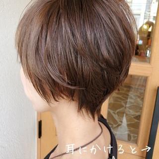 ヘアアレンジ 簡単ヘアアレンジ ショートボブ パーマ ヘアスタイルや髪型の写真・画像