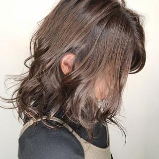 透明感 アッシュ ナチュラル 外国人風 ヘアスタイルや髪型の写真・画像