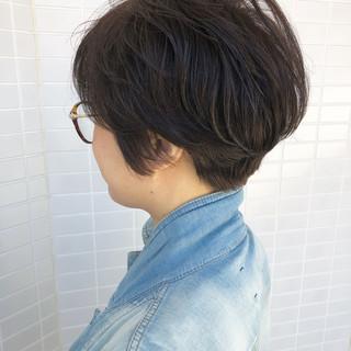 ショートヘア ハンサムショート ショートボブ ショート ヘアスタイルや髪型の写真・画像 ヘアスタイルや髪型の写真・画像