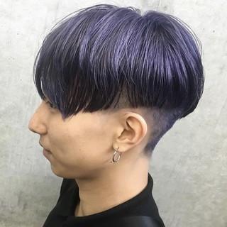 ナチュラル 刈り上げ マッシュショート ショート ヘアスタイルや髪型の写真・画像
