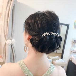 エレガント ロング ヘアアレンジ 女子力 ヘアスタイルや髪型の写真・画像 ヘアスタイルや髪型の写真・画像