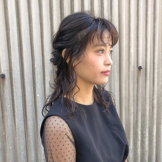 デート ガーリー 簡単ヘアアレンジ 成人式 ヘアスタイルや髪型の写真・画像