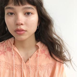 前髪あり ナチュラル 簡単 パーマ ヘアスタイルや髪型の写真・画像