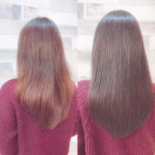 セミロング 透明感 簡単ヘアアレンジ オフィス ヘアスタイルや髪型の写真・画像 ヘアスタイルや髪型の写真・画像
