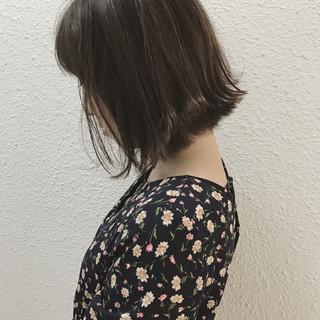 ボブ 外国人風カラー ナチュラル ハイライト ヘアスタイルや髪型の写真・画像