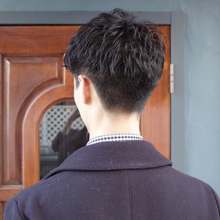 ストリート メンズヘア メンズパーマ ショート ヘアスタイルや髪型の写真・画像