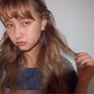透明感 ロング ローライト 外国人風カラー ヘアスタイルや髪型の写真・画像