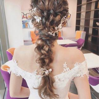 アンニュイ ヘアアレンジ フェミニン パーティ ヘアスタイルや髪型の写真・画像