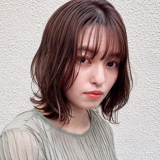 モテ髪 アンニュイほつれヘア ミディアム デート ヘアスタイルや髪型の写真・画像