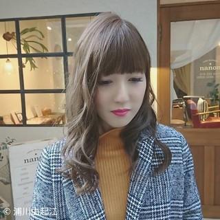 ゆるふわ アンニュイほつれヘア 外国人風カラー ロング ヘアスタイルや髪型の写真・画像