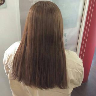 ロング ガーリー 外国人風カラー ダブルカラー ヘアスタイルや髪型の写真・画像