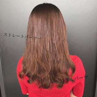 パーマ デジタルパーマ ゆるふわパーマ デート ヘアスタイルや髪型の写真・画像