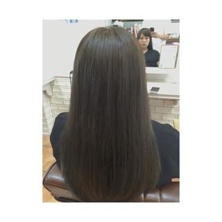 アッシュ ロング 外国人風カラー モード ヘアスタイルや髪型の写真・画像 ヘアスタイルや髪型の写真・画像