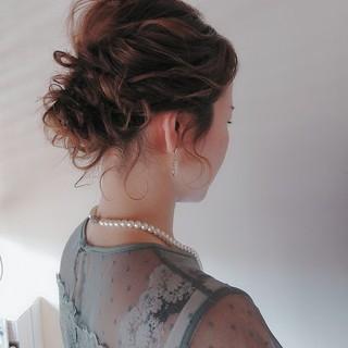 ヘアアレンジ オシャレ  ボブ ヘアスタイルや髪型の写真・画像
