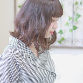 大人かわいい 秋 キュート フェミニン ヘアスタイルや髪型の写真・画像