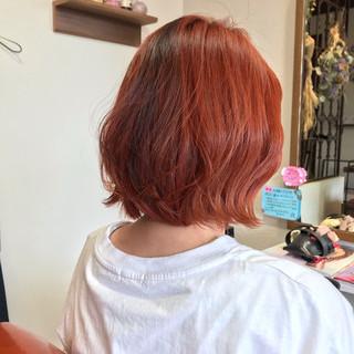 ボブ ボブヘアー ショートボブ ハイトーン ヘアスタイルや髪型の写真・画像 ヘアスタイルや髪型の写真・画像