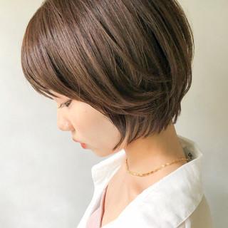 ショートヘア ショート 大人かわいい マッシュショート ヘアスタイルや髪型の写真・画像