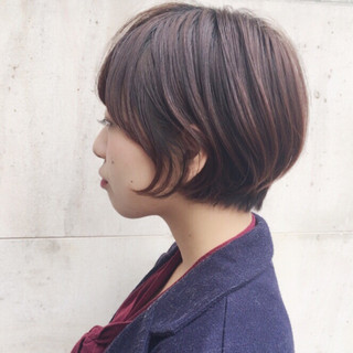 大人かわいい モテ髪 グラデーションカラー 前下がり ヘアスタイルや髪型の写真・画像