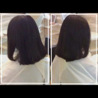 大人ヘアスタイル 髪質改善トリートメント 社会人の味方 ミディアム ヘアスタイルや髪型の写真・画像