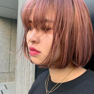 ハンサム 阿藤俊也 ボブ PEEK-A-BOO ヘアスタイルや髪型の写真・画像