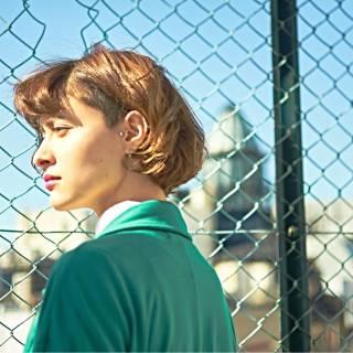 ボブ ウェーブ ストレート モード ヘアスタイルや髪型の写真・画像