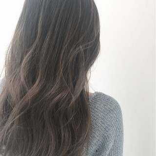 ストリート グレージュ ロング 金髪 ヘアスタイルや髪型の写真・画像