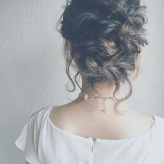 外国人風 夏 モード ミディアム ヘアスタイルや髪型の写真・画像