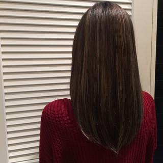 透明感 ハイライト グレージュ 大人かわいい ヘアスタイルや髪型の写真・画像