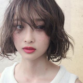 外国人風 パーマ 冬 ゆるふわ ヘアスタイルや髪型の写真・画像