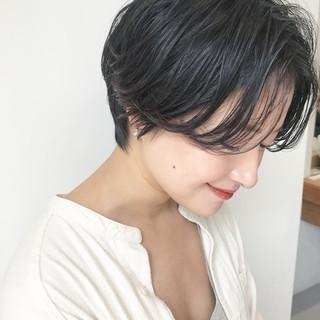 ナチュラル ヘアアレンジ ゆるふわ ショート ヘアスタイルや髪型の写真・画像