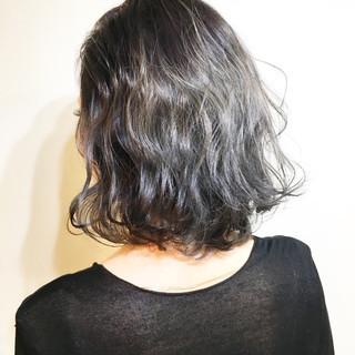 ストリート アッシュ 色気 ボブ ヘアスタイルや髪型の写真・画像 ヘアスタイルや髪型の写真・画像