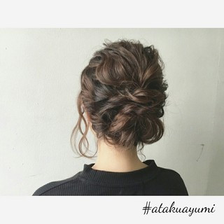 上品 エレガント デート ミディアム ヘアスタイルや髪型の写真・画像 ヘアスタイルや髪型の写真・画像