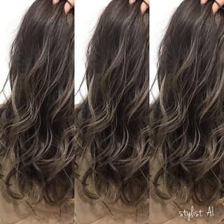 イルミナカラー 外国人風 ハイライト 外国人風カラー ヘアスタイルや髪型の写真・画像