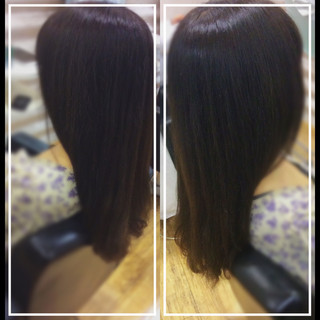髪質改善トリートメント ロング 髪質改善 髪質改善カラー ヘアスタイルや髪型の写真・画像 ヘアスタイルや髪型の写真・画像