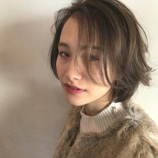 こなれ感 小顔 色気 ナチュラル ヘアスタイルや髪型の写真・画像
