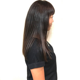 トリートメント ロング 艶髪 透明感 ヘアスタイルや髪型の写真・画像