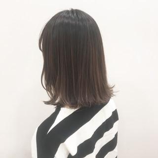 外国人風 色気 アッシュ ボブ ヘアスタイルや髪型の写真・画像