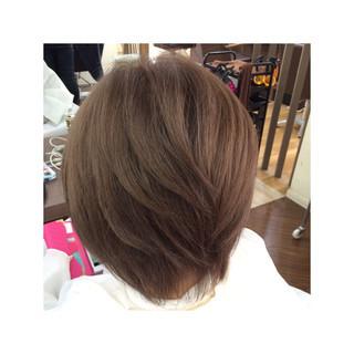 外国人風カラー アッシュ ベージュ モード ヘアスタイルや髪型の写真・画像
