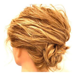 成人式 謝恩会 結婚式 ヘアアレンジ ヘアスタイルや髪型の写真・画像